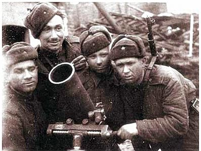 Soldats russes unform la Seconde Guerre mondiale - Ushanka